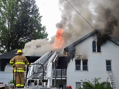 Structure Fire - East Great Plain, Norwich, CT - 5/28/18