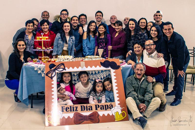 Día del padre 2019 familia Sarmiento