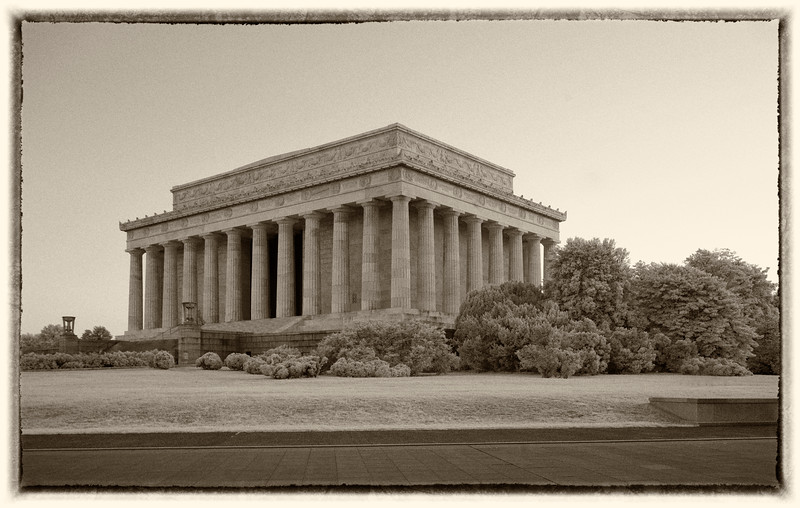 Lincoln Memorial Infrared