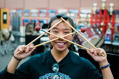 Drumline Rehearsals