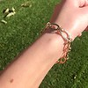 Vintage Yellow Gold Bracelet, 18kt 7