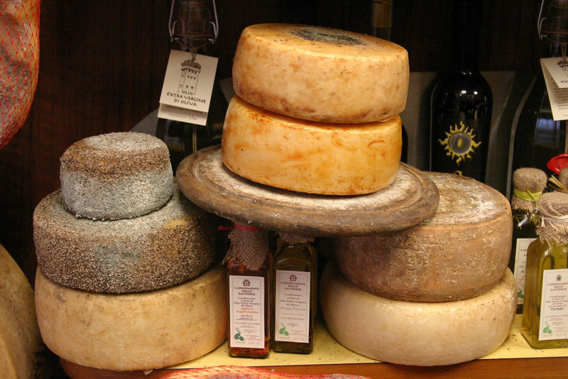 Cheese and Olive Oil