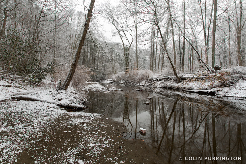 Crum Creek in winter