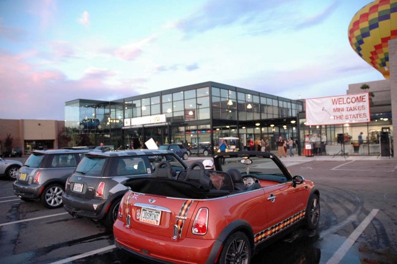 Day 5 began early at the local Albuquerque Sandia MINI dealership.