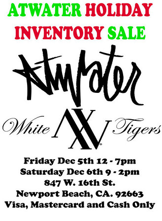 Atwater Holiday Sale!