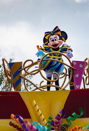 WDW Magic Kingdom - Boo to You Parade - Halloween