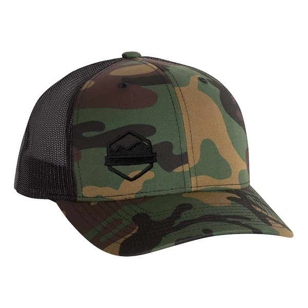 Organ Mountain Outfitters - Outdoor Apparel - Hat - Logo Retro Trucker Cap - Camo Black.jpg