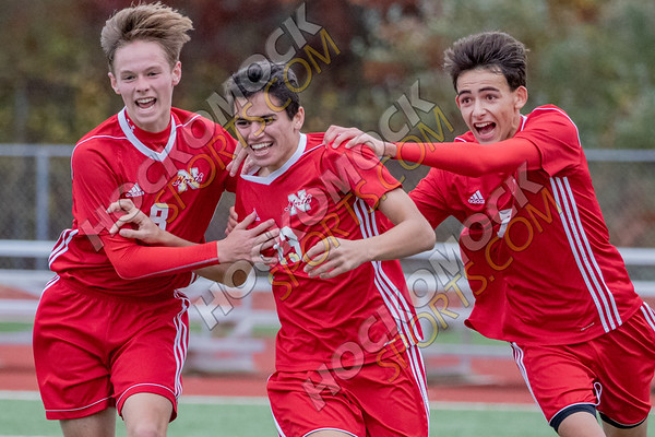 North Attleboro-Foxboro Boys Soccer - 10-29-19