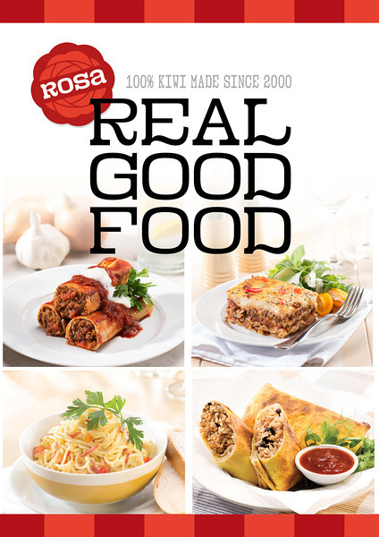 Rosa Foods - Display Ad (Wellington Food Show)