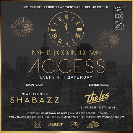 Access @ CellarSF 12.26