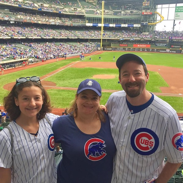 Easily more #Cubs fans here than Brewers fans! #GoCubsGo