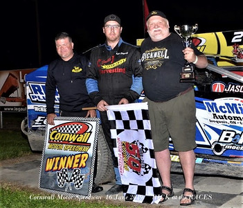 Cornwall Motor Speedway - 6/16/19 - Rick Young