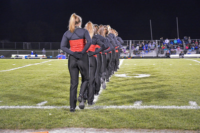 2016 Fall Dance Team Delavan Game