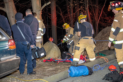 Yutaka Trail Rope Rescue (Shelton, CT) 2/19/20