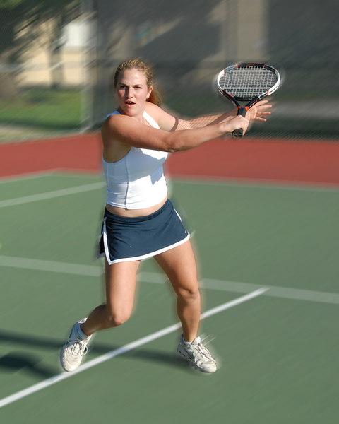 Menlo Girls Tennis 2006
