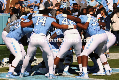 Carolina Tar Heels vs Georgia Tech Yellow Jackets Football Photos - 11.3.18