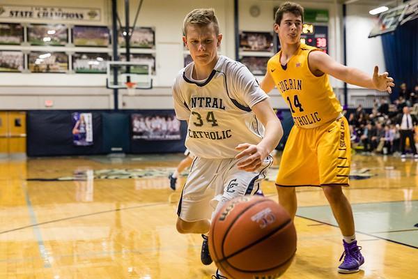 CC Varsity Boys Basketball vs Guerin 2017-1-27