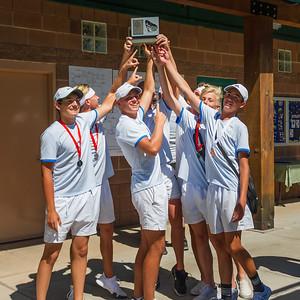 2019-05-04 Dixie HS Tennis - Region 9 Champions