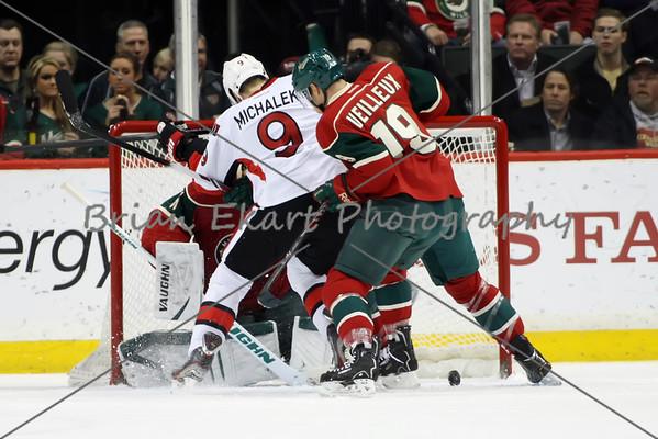MN Wild vs Ottawa Senators - 1/14/14