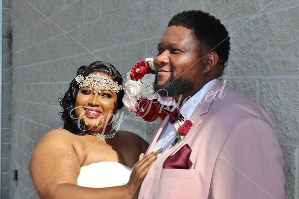 Keke and Jermaine Wedding
