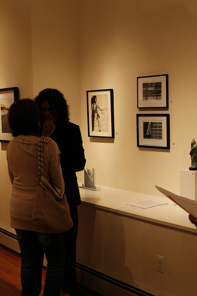 Karolinas Openning in Pomona's Galery