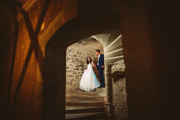 Hannah & Philip | Chateau de Camon