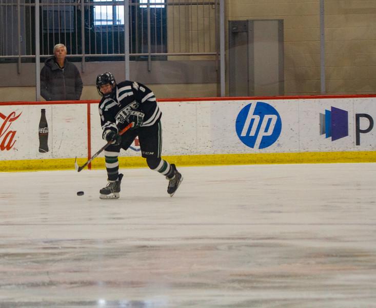 Holy Family Boys Varsity Hockey vs. Academy of Holy Angels, 12/21/19: Noel Rahn '21 (8)