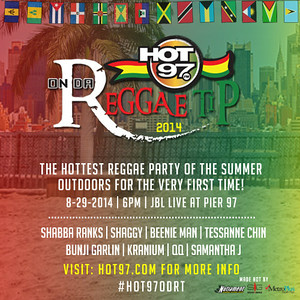 HOT 97's On Da Reggae Tip @ Pier 97 (8.29.2014)