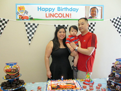 Lincoln's First Birthday (March 2014)
