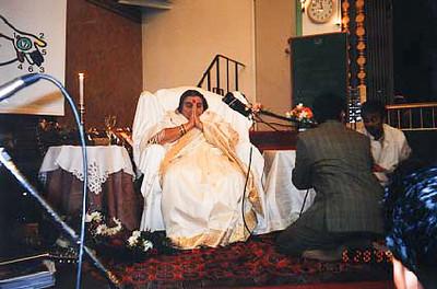 public program, Hindi temple, 30 June 1999, Vancouver Canada