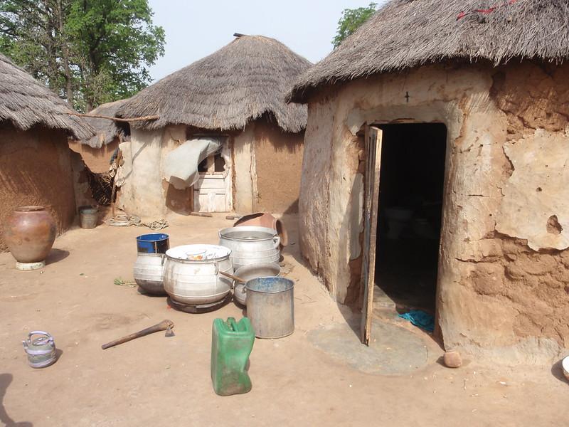 032_Tamale and Kumasi. Village Life and Traditional Buildings.jpg