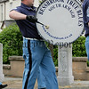The 12th July L.O.L. parade in Bessbrook. A drummer with bessbrook True Blues band. 06W29N19
