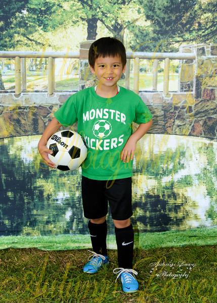PreK Monster Kickers - TNYMCA Soccer Spring 2016