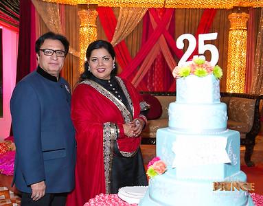 Mehta's 25th Wedding Anniversary