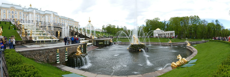 Catherine's Garden St Petersburg