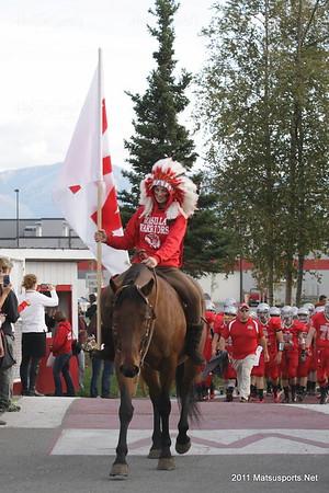 Wasilla Vs. Juneau 9-9-2011