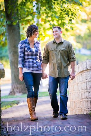 Jen & Derrick Color Engagement Photos