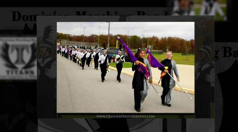 2009 State Marching Band Competition (Video Slideshow)