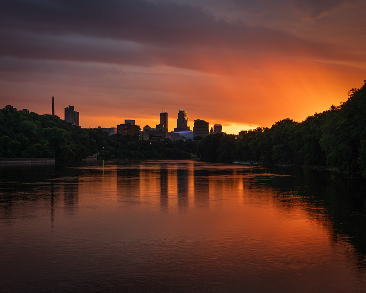 Minneapolis Rainy Splendor