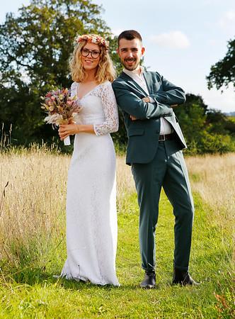 udvalgte bryllup