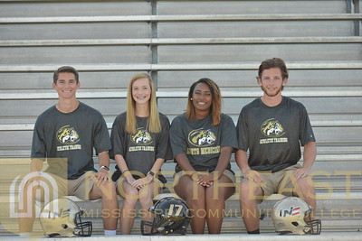 2017-08-24 ATC FB Media Day - Student Athletic Trainers