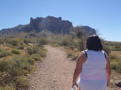 2017-03 Hiking in the Superstition Mts