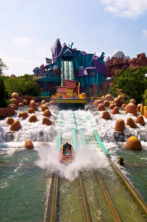 Ripsaw Falls, Universal Studios, Orlando, Florida, United States of America