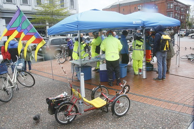 PHOTOS: Bike Month rally peddles to pedal pushers