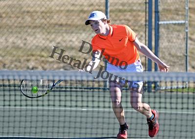 Delano Tigers Boys Tennis 2017