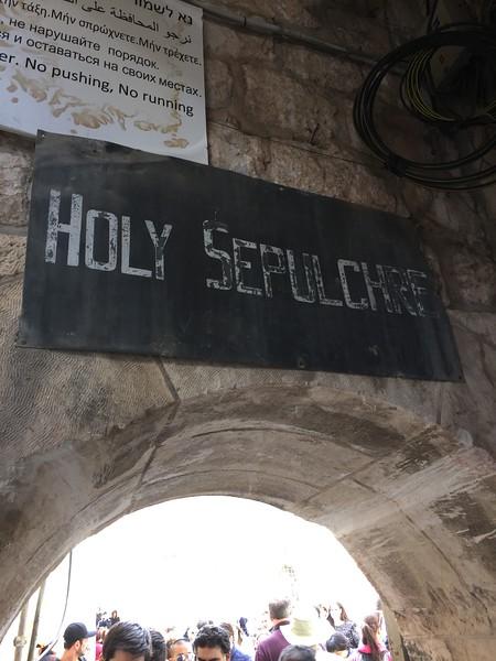 The Church of the Holy Sepulcher - Bridget St. Clair