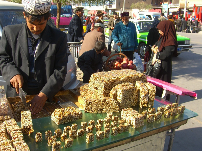 Nuts and Natural Energy - Kashgar, China