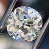 4.11ct Antique Cushion Cut Diamond, GIA N VS1 8