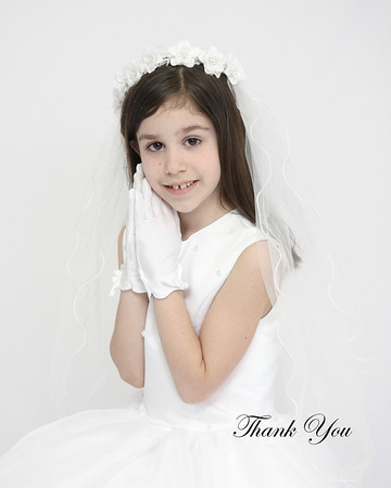 Heather, 1st Communion