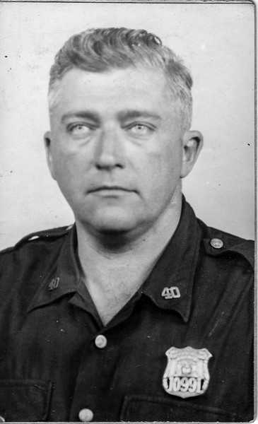 William J. Brady, Sergeant, NYC Police Department, 40th Precinct